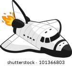 Illustration Of A Space Shuttle