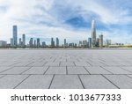 panoramic skyline and buildings ... | Shutterstock . vector #1013677333