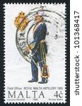 malta   circa 1990  a stamp... | Shutterstock . vector #101368417