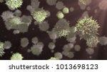 antibiotic resistant disease... | Shutterstock . vector #1013698123