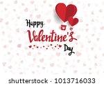 illustration of love and... | Shutterstock .eps vector #1013716033