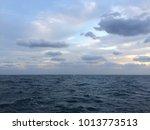 hd blue sky blue water desktop... | Shutterstock . vector #1013773513