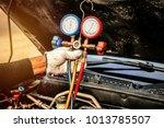 repair service air car system   ... | Shutterstock . vector #1013785507