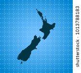 map of new zealand   Shutterstock .eps vector #1013788183