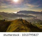 mount tapyas in coron philipinne | Shutterstock . vector #1013795827