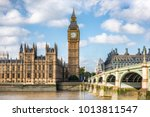 london city travel holiday... | Shutterstock . vector #1013811547