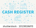 conceptual business... | Shutterstock . vector #1013818693