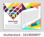 abstract vector layout... | Shutterstock .eps vector #1013830897