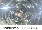 abstract background gray tunnel.... | Shutterstock . vector #1013858857
