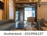hotel reception desk  reception ... | Shutterstock . vector #1013906137