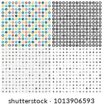 business icons set   Shutterstock .eps vector #1013906593