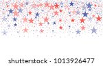 patriotic american stars... | Shutterstock .eps vector #1013926477
