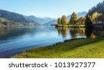 amazing landscape of alpine...   Shutterstock . vector #1013927377