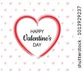 happy valentine's day   banner... | Shutterstock .eps vector #1013929237