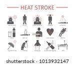 heart attack. symptoms ... | Shutterstock . vector #1013932147