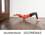 spine massage. therapy... | Shutterstock . vector #1013983663