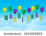 mardi gras carnival vector... | Shutterstock .eps vector #1014005833