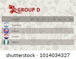 football world championship ... | Shutterstock .eps vector #1014034327