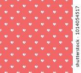 heart on pink background ...   Shutterstock .eps vector #1014054517