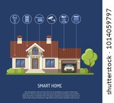 smart home and internet of... | Shutterstock .eps vector #1014059797