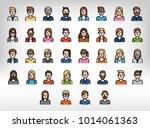 character  user  avatar  people ... | Shutterstock .eps vector #1014061363