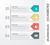 infographics template for... | Shutterstock .eps vector #1014088783