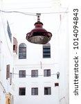 rusty streetlamp in the old... | Shutterstock . vector #1014094843