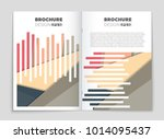 abstract vector layout... | Shutterstock .eps vector #1014095437