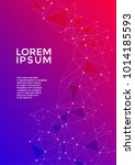 cover page layout. global... | Shutterstock .eps vector #1014185593