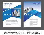 design brochure cover layout... | Shutterstock .eps vector #1014190087