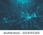 abstract music background. big ... | Shutterstock . vector #1014191263