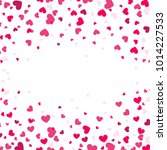 colorful background with heart... | Shutterstock .eps vector #1014227533