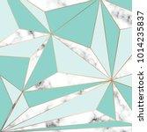 vector marble texture design... | Shutterstock .eps vector #1014235837