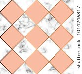 vector marble texture  seamless ... | Shutterstock .eps vector #1014246817