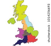 united kingdom map   Shutterstock .eps vector #1014256693