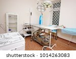 surgical operating room in a... | Shutterstock . vector #1014263083