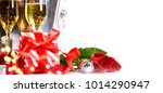 gift box for valentines day | Shutterstock . vector #1014290947