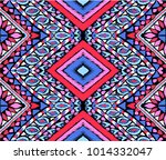 indian embroidery. geometric... | Shutterstock .eps vector #1014332047