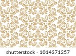 floral pattern. wallpaper... | Shutterstock .eps vector #1014371257