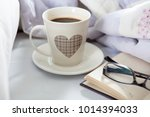 bedroom on the bed  morning... | Shutterstock . vector #1014394033