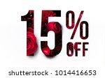 15  off discount promotion sale ... | Shutterstock . vector #1014416653