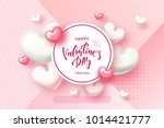 festive card for happy... | Shutterstock .eps vector #1014421777