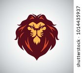 lion logo vector illustration   Shutterstock .eps vector #1014435937