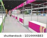 exhibition stand asean modern... | Shutterstock . vector #1014444883