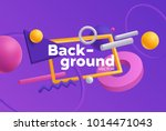 vector background with bright... | Shutterstock .eps vector #1014471043