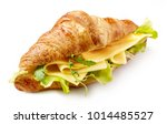 Croissant Sandwich With Cheese...