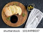 wine snack set. glass of red... | Shutterstock . vector #1014498037