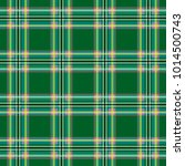 scottish cage  green celtic.... | Shutterstock .eps vector #1014500743