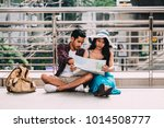 couple asian travelers are...   Shutterstock . vector #1014508777