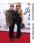 Small photo of LOS ANGELES - JAN 28: Joey Kramer and Linda Kramer arrives for Steven Tyler 1st Annual Janies Fund Gala 2018 on January 28, 2018 in Hollywood, CA